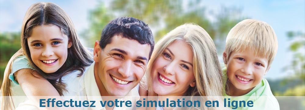 Simulation prêt en ligne